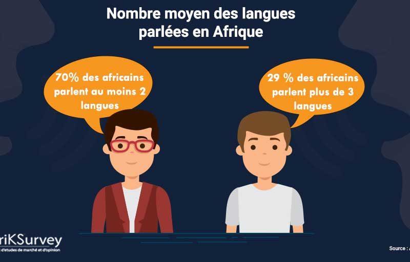 langues locales parlées en Afrique