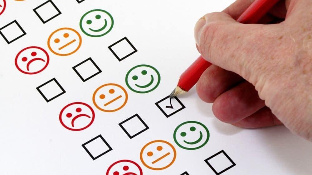 L'enquête de satisfaction pour mesurer la satisfaction client.