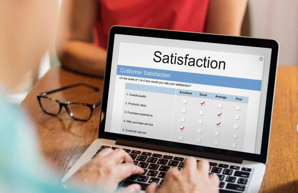 types d'enquêtes de satisfaction